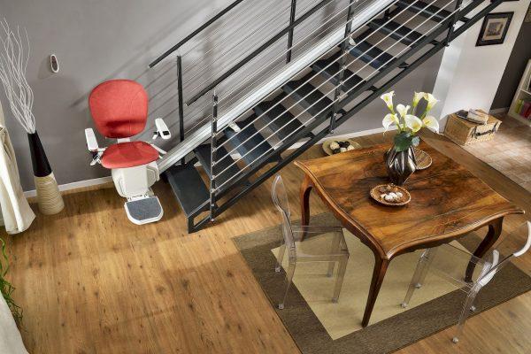 Monte Escalier droit Confort Plus Platinum vue d'ensemble
