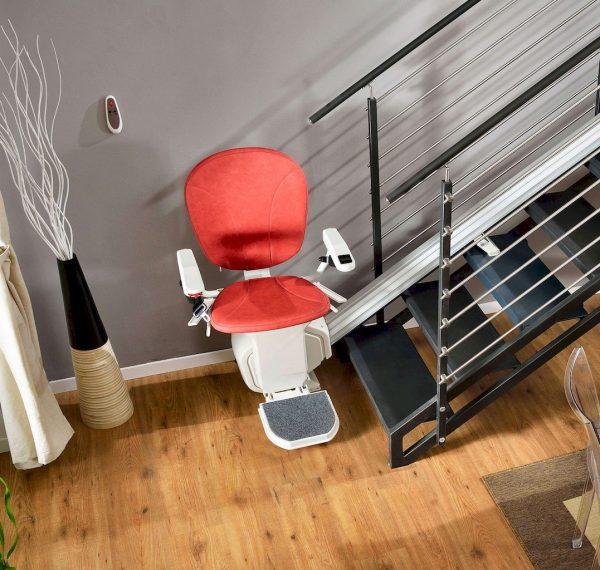 Monte Escalier droit Confort Plus Platinum horizon