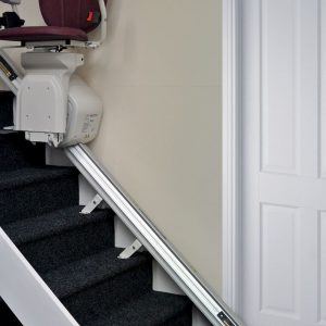 Confort Plus Monte Escalier courbe Platinum rail repliable automatique