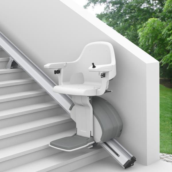 Monte Escalier Extérieur Confort Plus Homeglide levant