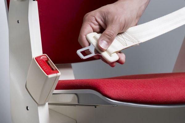 Monte Escalier Courbe Confort Plus Otolift ceinture de sécurité