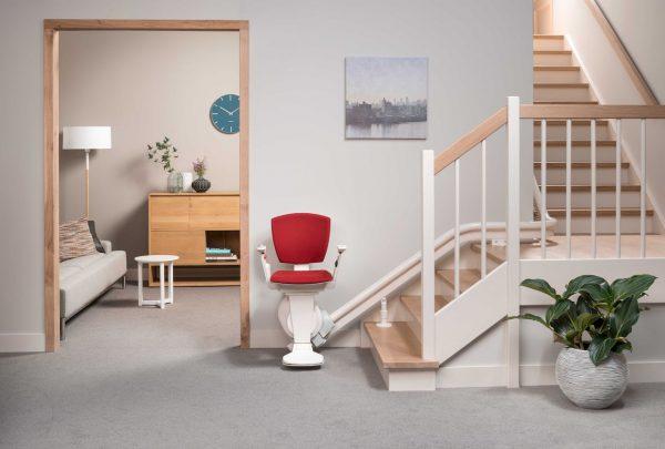 Monte Escalier Courbe Confort Plus Otolift air