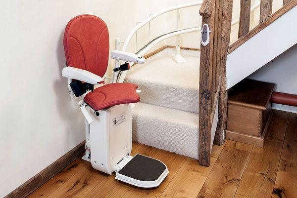 Monte Escalier Platinum Confort Plus Sierge ergo plus rouge