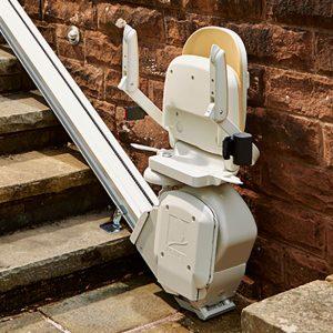 Monte escalier extérieur acorn replié confort plus