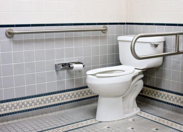 barre de maintient toilette