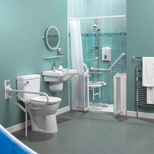 Equipement de barre de maintien salle de bain