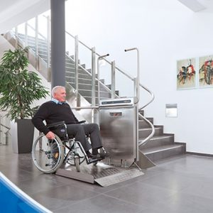 Plateforme elevatrice fauteuil roulant confort plus toulouse